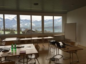 Seminarraum mit Natur
